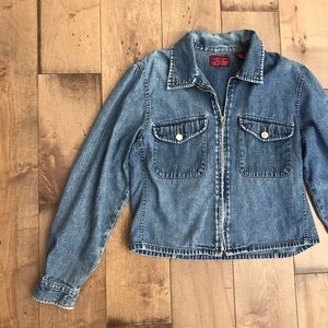 Vintage Limited Jean Jacket Denim Full Zip M